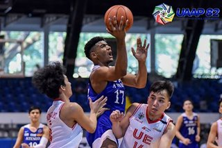 UAAP: Ateneo blasts UE for solo third in boys' basketball