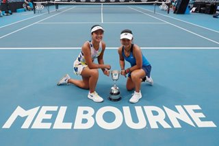 PH-Indonesia tandem wins Australian Open girls' doubles title