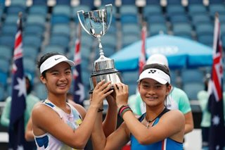 Tennis: Alex Eala, Indonesian partner claim Australian Open girls' doubles title