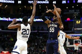 NBA: Balanced Pelicans hammer Grizzlies