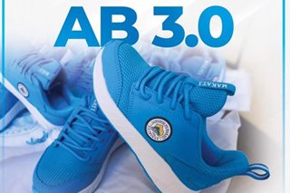 LOOK: New line of 'AB 3.0' Binay sneakers out for distribution