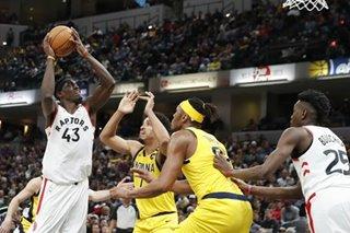 NBA: Raptors outlast Pacers, extend franchise-best win streak to 13