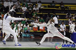 UAAP 82: UE fencers show dominant form, as they chase title