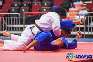 UAAP 82: UP, UE dominate Day 1 of judo competitions