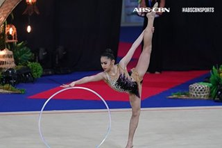Gymnast dela Pisa joins Eala as Junior Athletes of the Year