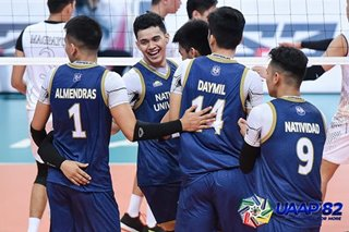 UAAP: NU fends off UST for winning start to three-peat bid in men's volleyball