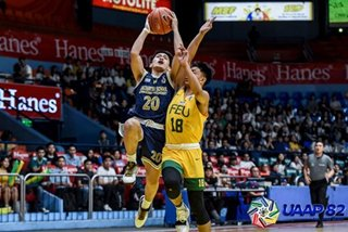 UAAP: NU crushes FEU, just a win away from boys' basketball title