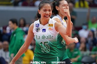 UAAP: Tiamzon stays on even keel after leading La Salle to first win