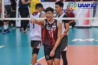 UAAP: UE asks for more crowd support after breakthrough win in men's volleyball
