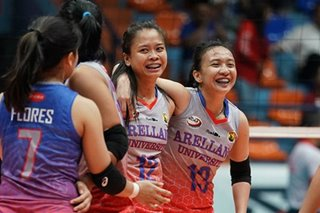 NCAA: Perpetual, Arellano retain volleyball titles as season is cut short