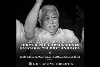 PSC mourns passing of former commissioner Buddy Andrada