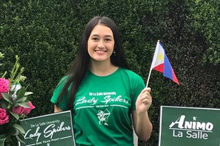 UAAP: Fil-Am spiker from Los Angeles commits to La Salle