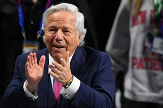 NFL: Patriots owner Kraft's Super Bowl ring sells for $1.025 million