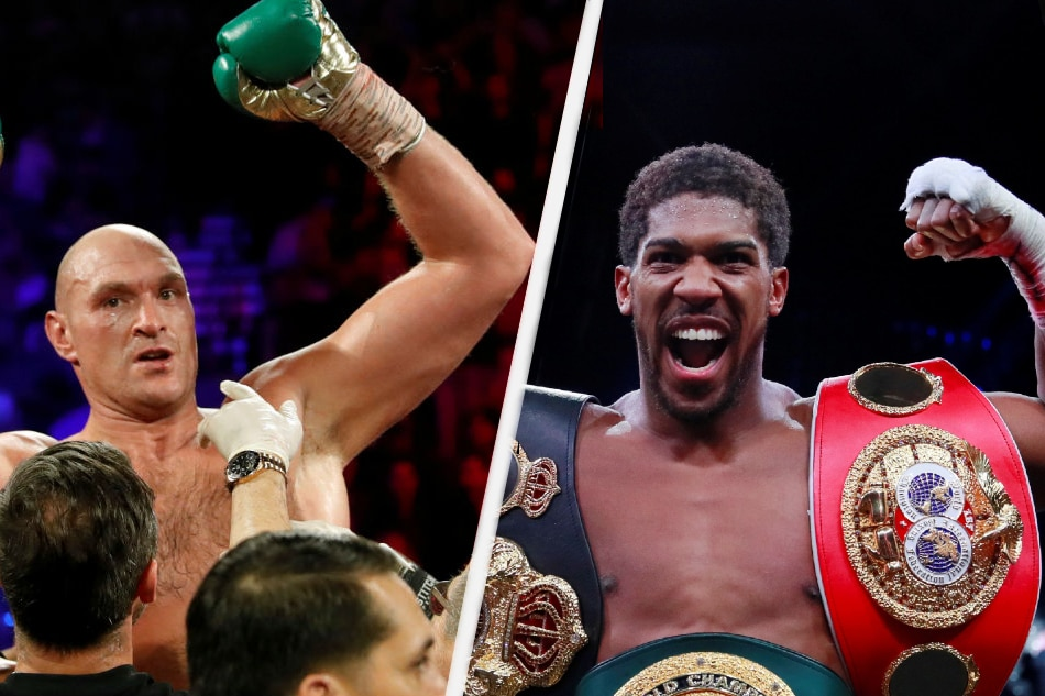 Anthony Joshua and Tyson Fury agree two-fight deal
