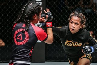 MMA: Stranded in Thailand, Denice Zamboanga keeps focus on planned title bout