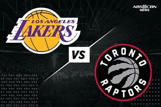 NBA: Lowry takes charge, leads Raptors past Lakers