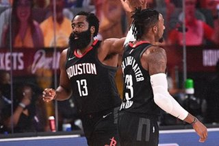 WATCH: James Harden player highlights — Rockets-Lakers, August 6, 2020