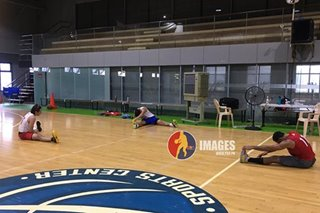 After nearly 6 months, PBA teams resume training