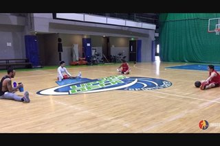 LOOK: Calvin Abueva returns to practice with Phoenix