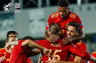 Football: Fati arrives on international stage as Spain take control
