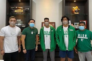 UAAP: Mark Nonoy, Deo Cuajao officially welcomed by La Salle booster