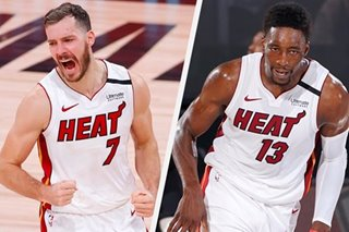 NBA Finals: Heat's Adebayo (neck), Dragic (foot) ruled out for Game 3