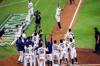 Baseball: Correa homer keeps Astros alive against Rays, Braves bounce back