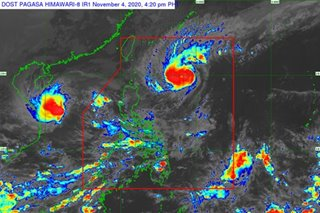 'Siony' intensifies into severe tropical storm, Signal No. 1 up in parts of N. Luzon
