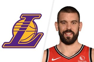 NBA: Lakers agree to two-year deal with Marc Gasol -- reports
