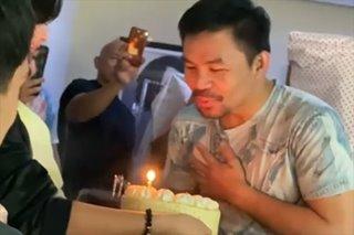 'Hindi kami nagpabaya': Pacquiao on viral birthday celebration