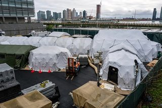 New York City considers mass grave in park for virus victims