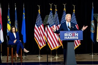 Top US Republican national security officials say they will vote for Biden