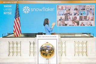 Snowflake more than doubles in debut as Wall Street embraces tech IPOs