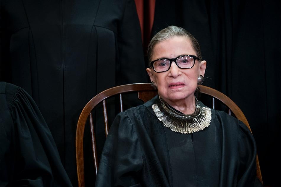 US Supreme Court Justice Ruth Bader Ginsburg dies at 87 1