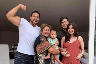'Certified mommy' Anne Curtis bonds with Eric Tai's baby son Legend