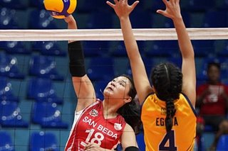 NCAA 95: San Beda outlasts JRU in women's volleyball debut