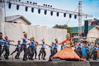 Police officers dedicate 'Tala' dance to victims of Taal