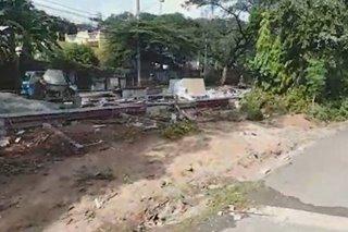 Binakbak, pero di tinapos? Road expansion project sa Antipolo inireklamo