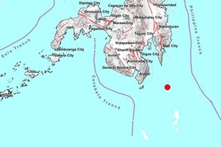 Magnitude-4.0 quake jolts Davao Occidental; no damage expected
