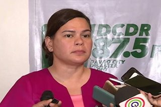 Sara Duterte joins counter-terrorism training in US