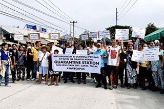 #SaveCapas: Silent protest laban sa quarantine site, isinagawa
