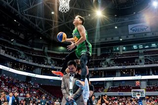 David Carlos repeats as MPBL dunk king