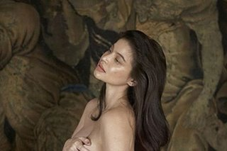 Radiant Anne Curtis poses nude in final month of pregnancy