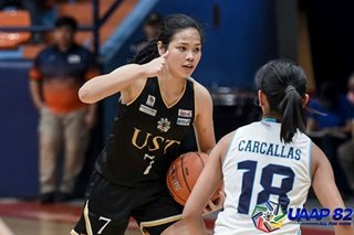 UAAP 82: UST ends Adamson's perfect run, closes in on girls basketball title