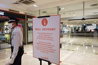 Metro Manila malls to shut down early ahead of quarantine