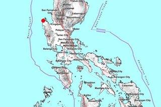 Magnitude 4.6 quake jolts Pangasinan