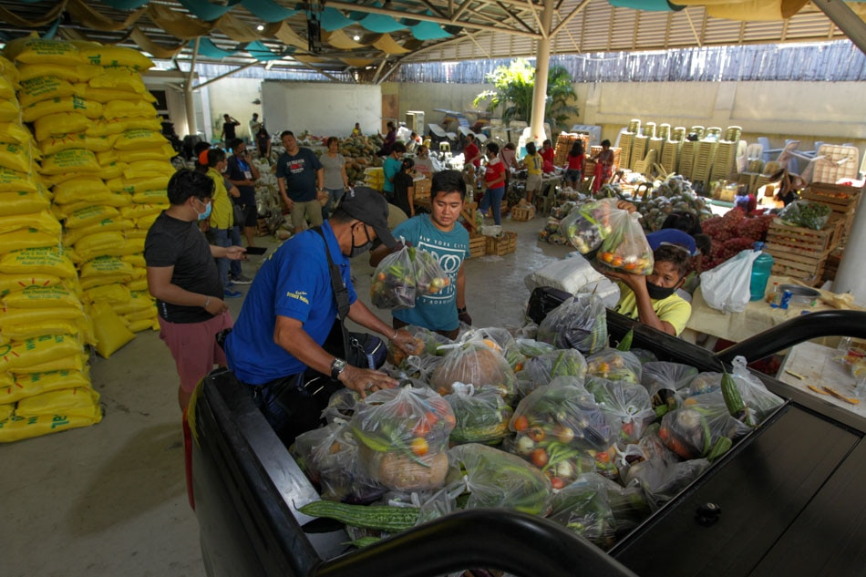 Veggies for Mandaluyong PUIs and PUMs in areas under 'extreme quarantine'