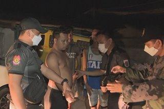 COVID-19 quarantine: Mga lumabag sa liquor ban, curfew sa Bacoor arestado