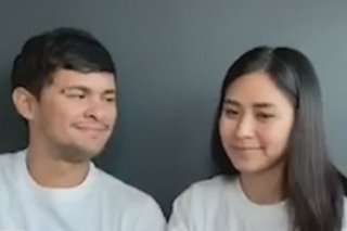 WATCH: Matteo, Sarah in 'You Are the Reason' duet for ABS-CBN digital concert