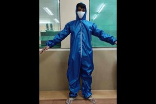Members of PH fashion industry make doctor-approved protective suit for frontliners